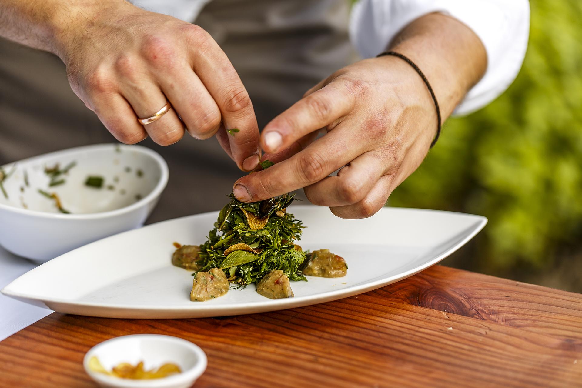 Kulinarische Zeitreisen Salat Vierzehn