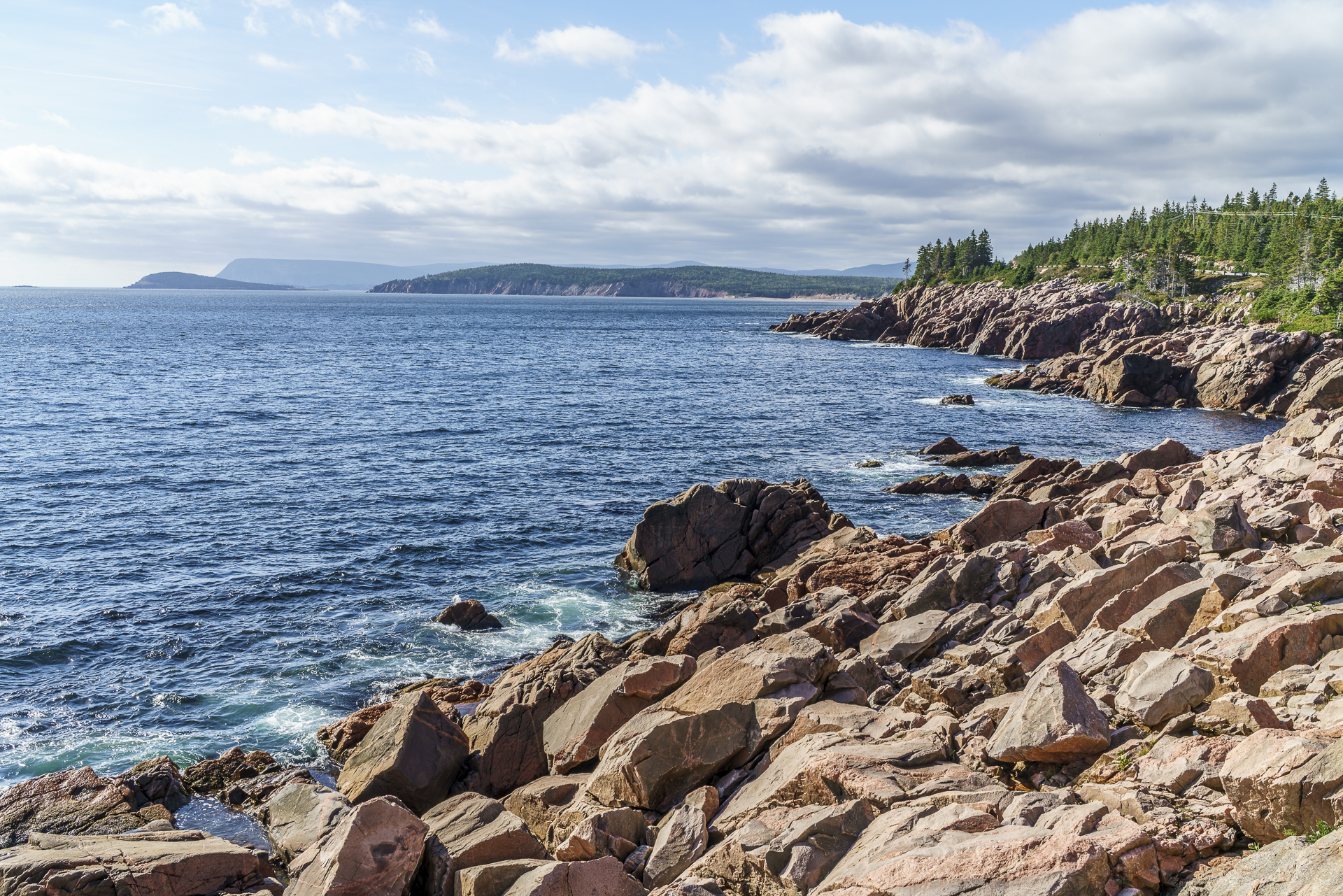Cape Breton Küste