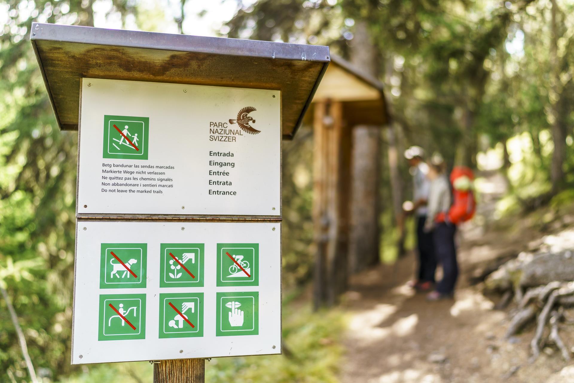 Nationalpark Vorschriften