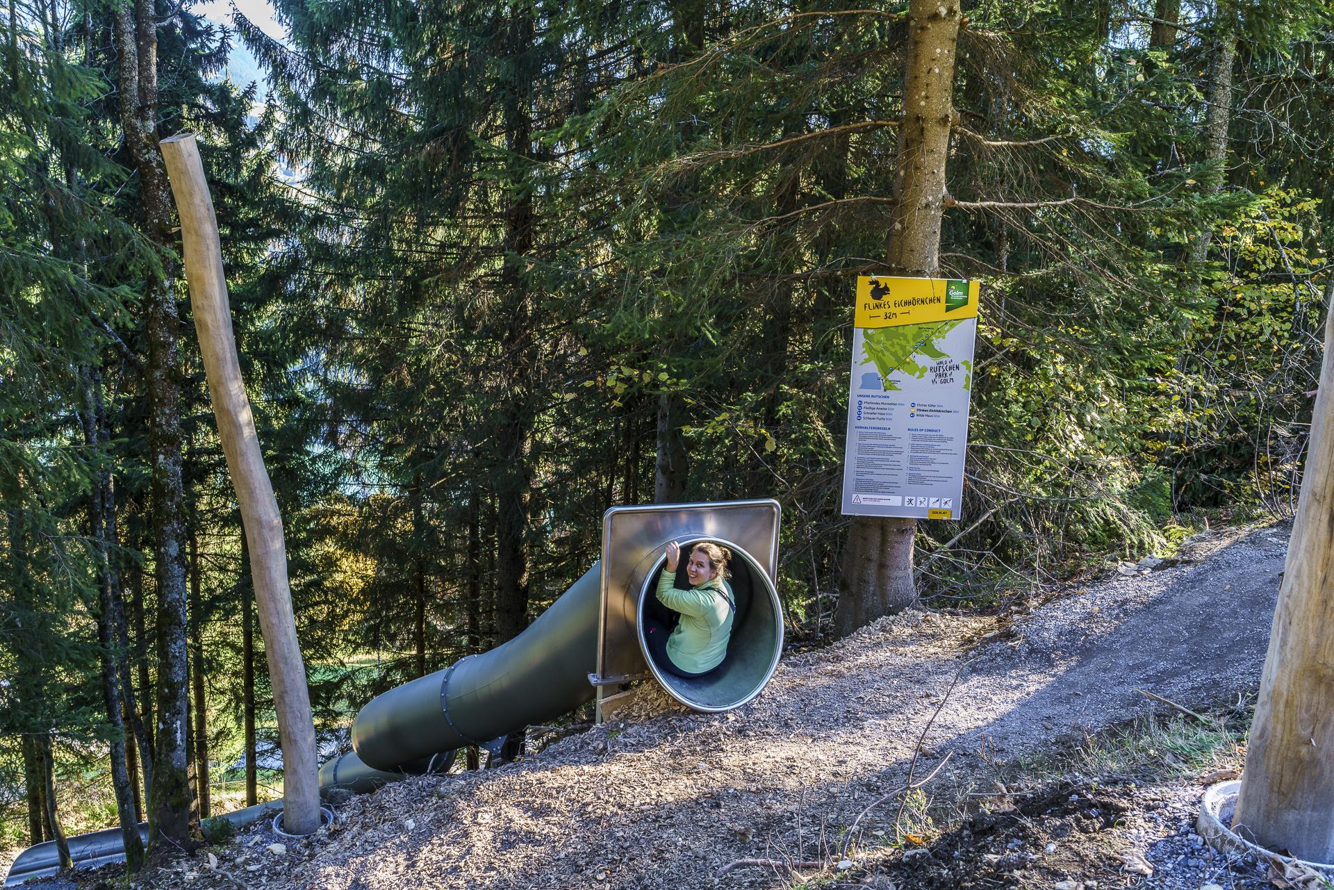 Waldrutschenpark Bewegungsberg Golm