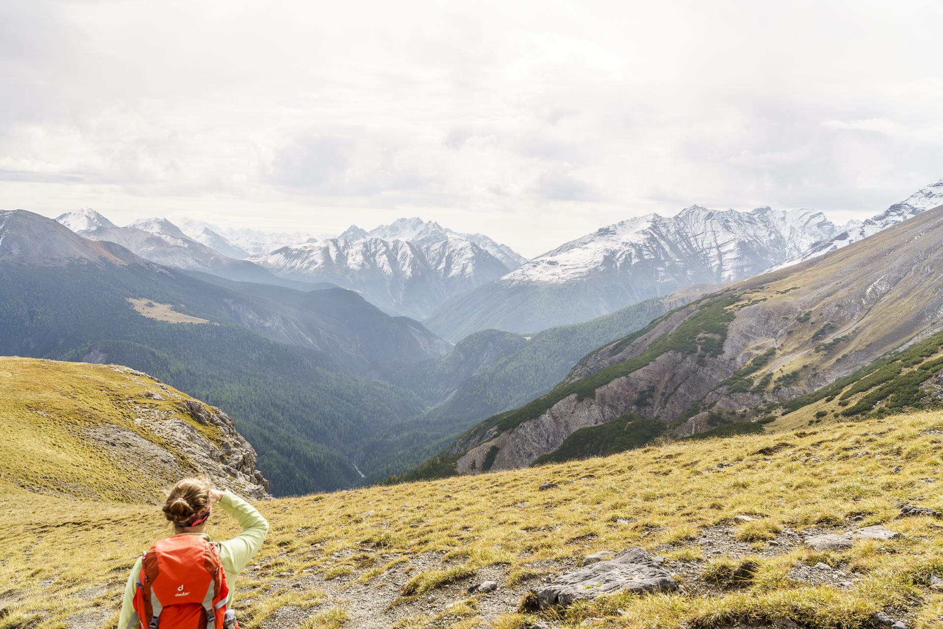 Wanderung Val Cluozza - Murter - Val Spöl