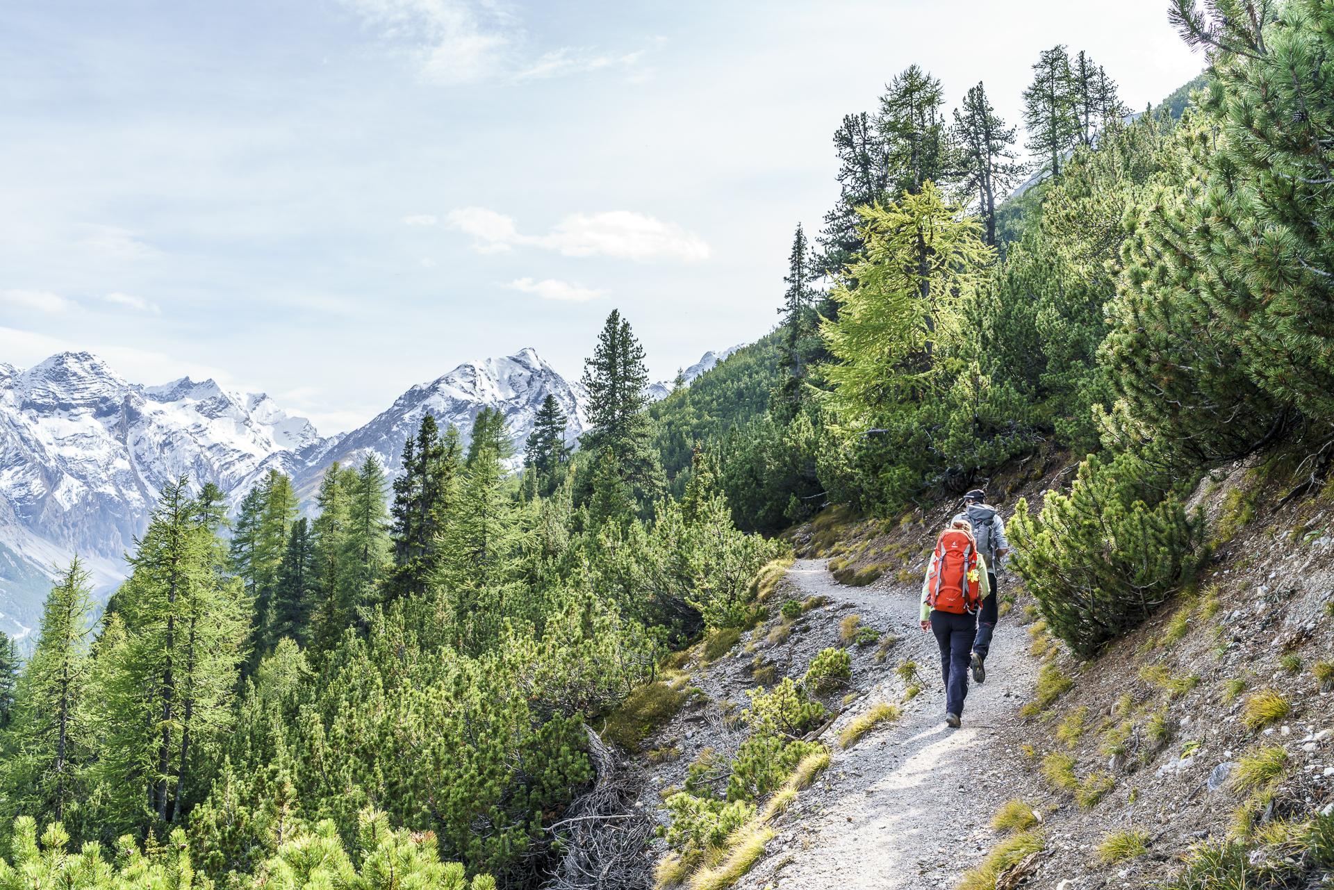 Wanderung Zernaz Val Cluozza