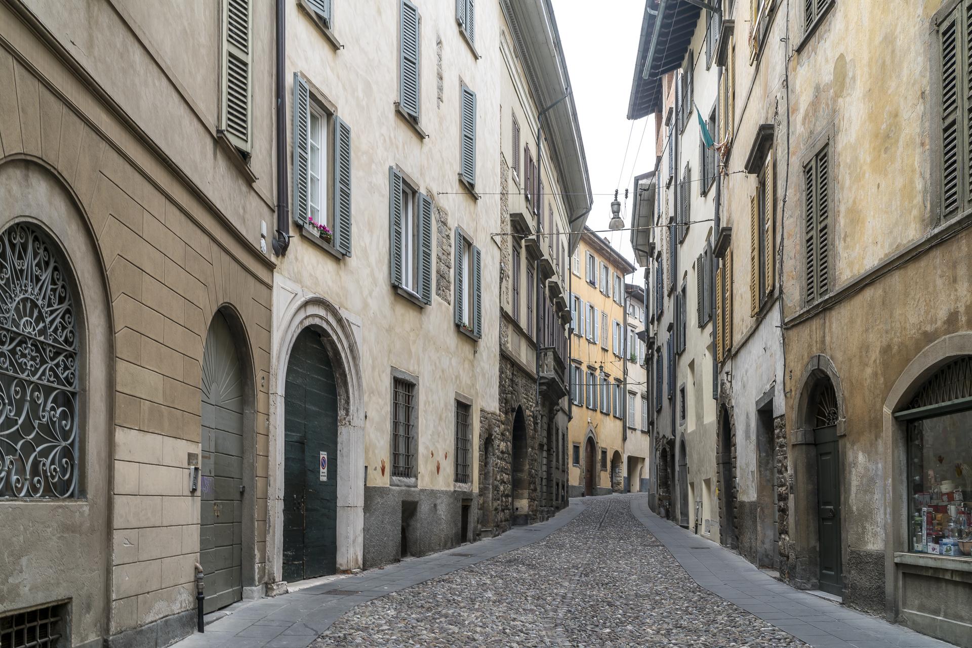 Bergamo Altstadtgassen