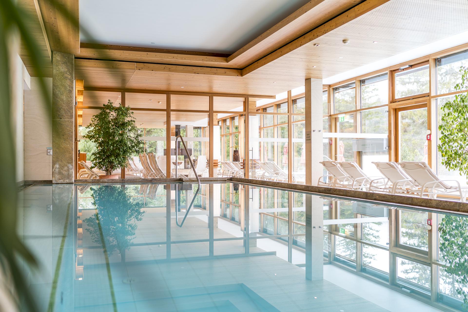 Das Kranzbach Indoorpool