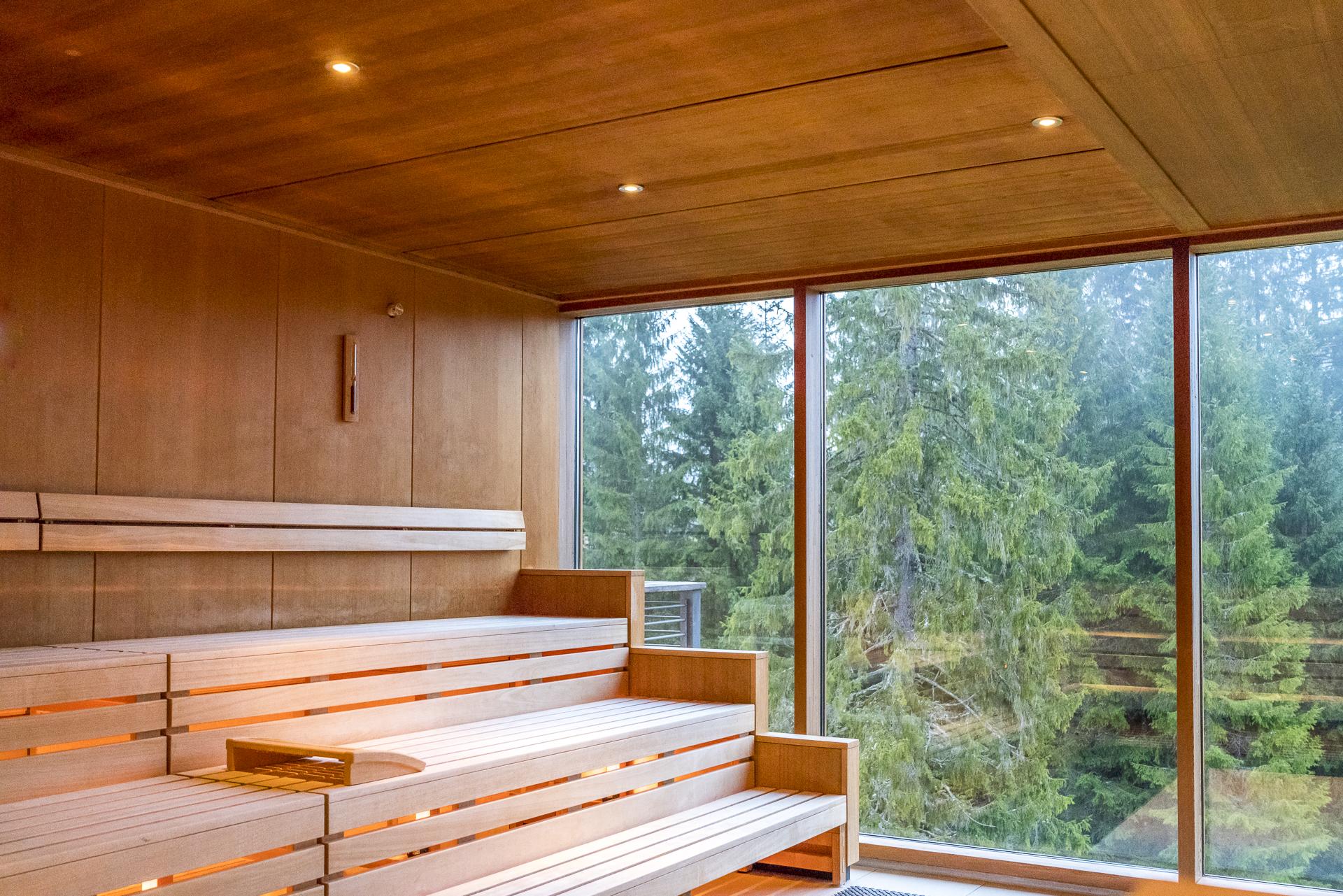 Das Kranzbach Sauna