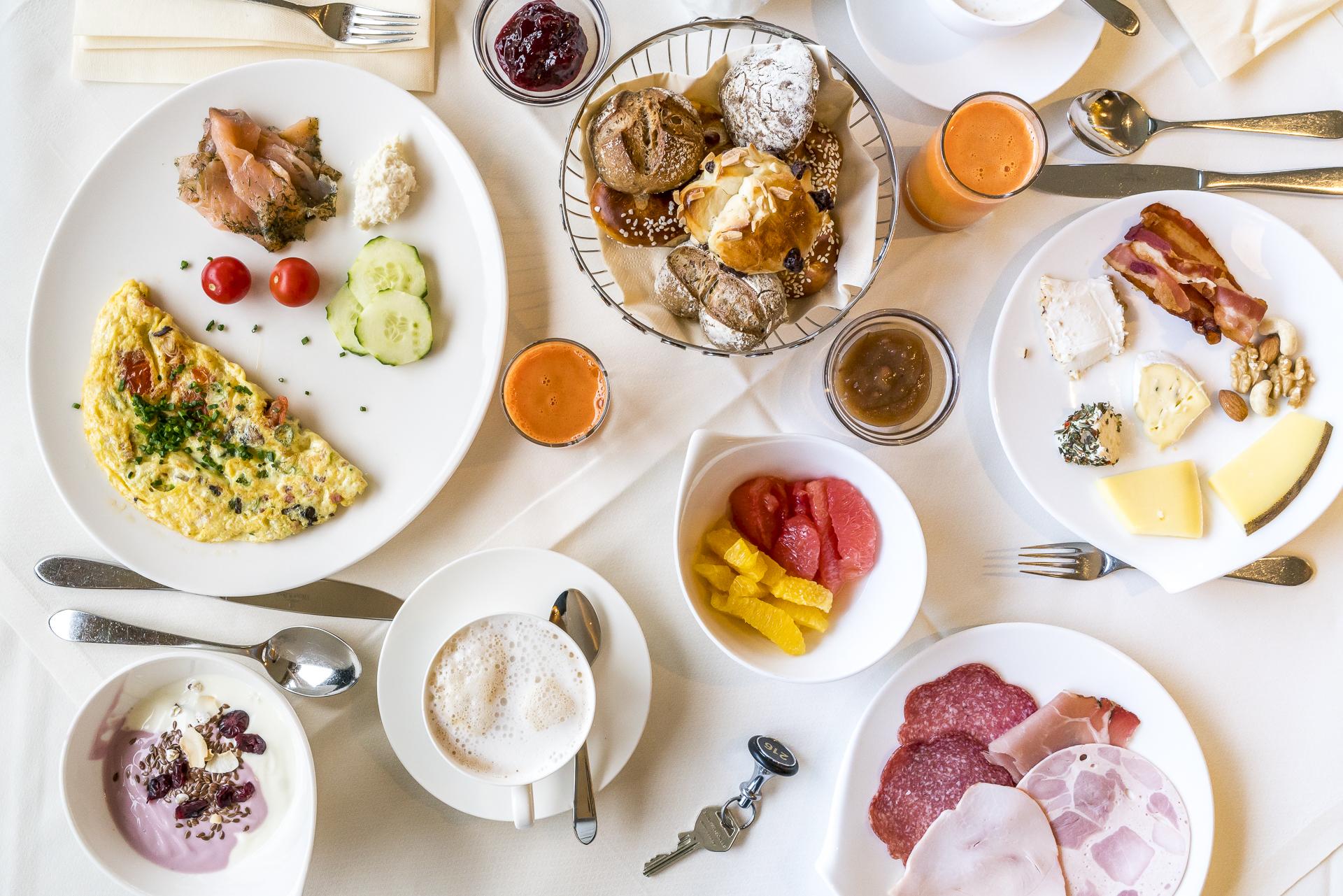 Frühstück Das Kranzbach