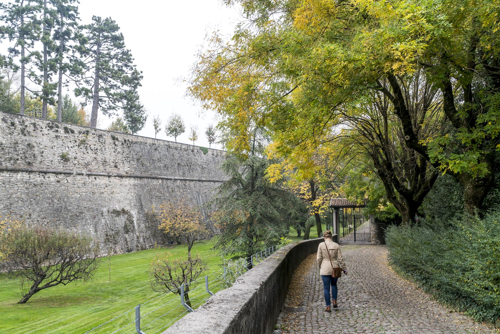 Stadtmauer Bergamo