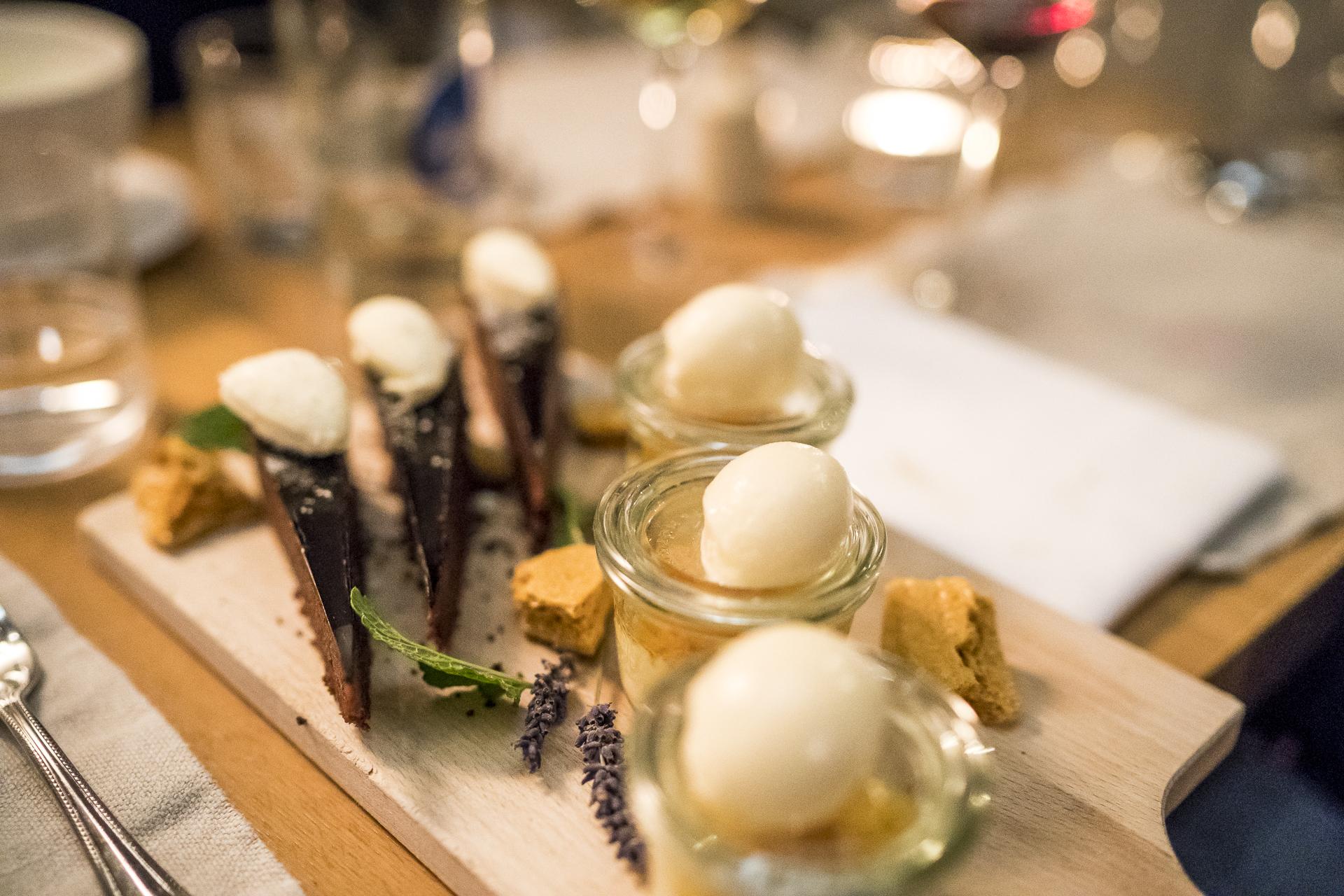 Desservariation Restaurant Puro Zermatt