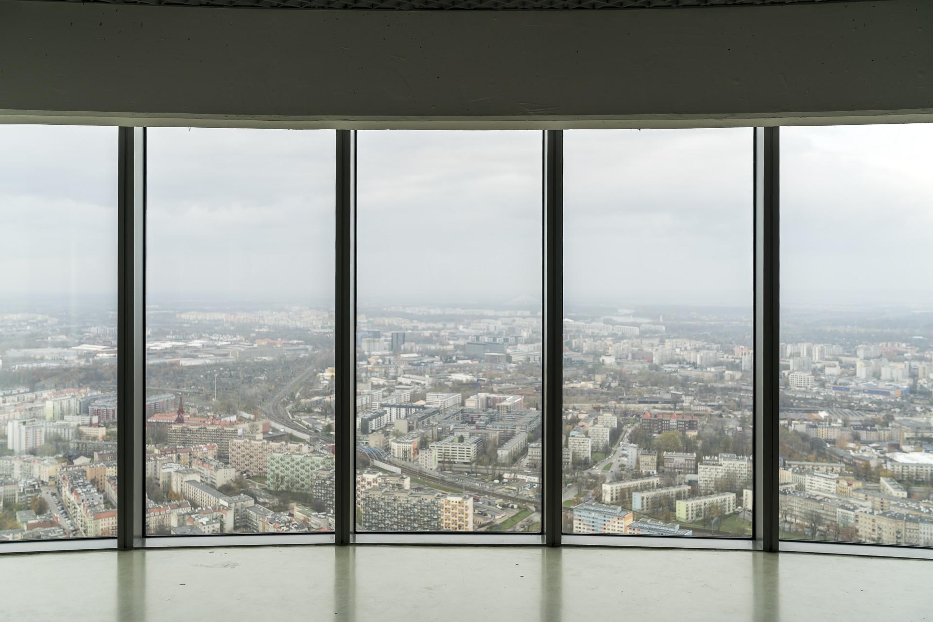 Aussicht Sky Tower Wroclaw