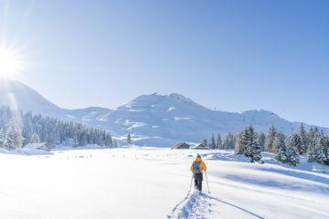 Schneeschuhlaufen in Stoos - Ein Wintertraum