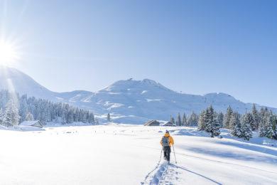 Schneeschuhtour in Stoos