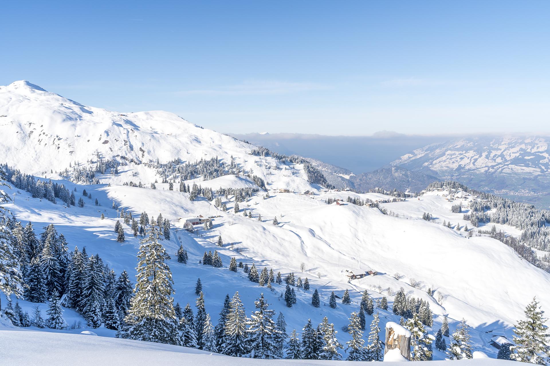 Skigebiet Stoos Zentralschweiz