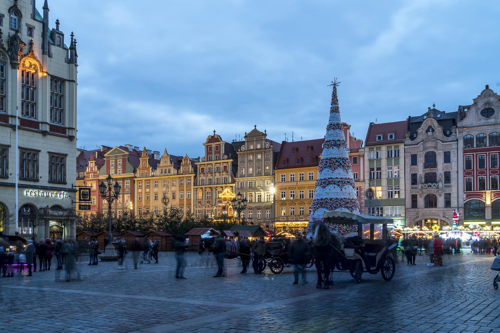 Wroclaw Weihnachtsmarkt