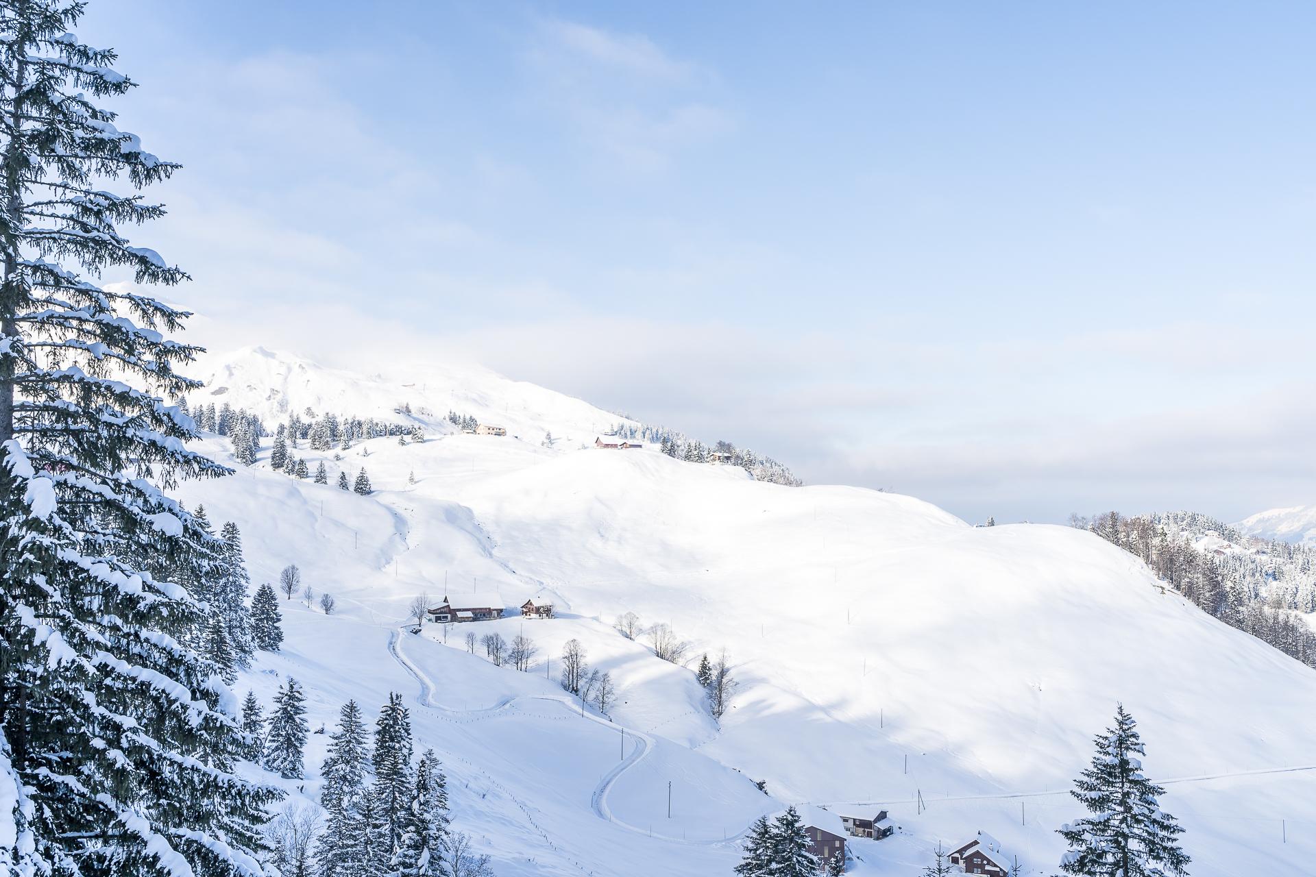 Wintersportort Stoos Zentralschweiz