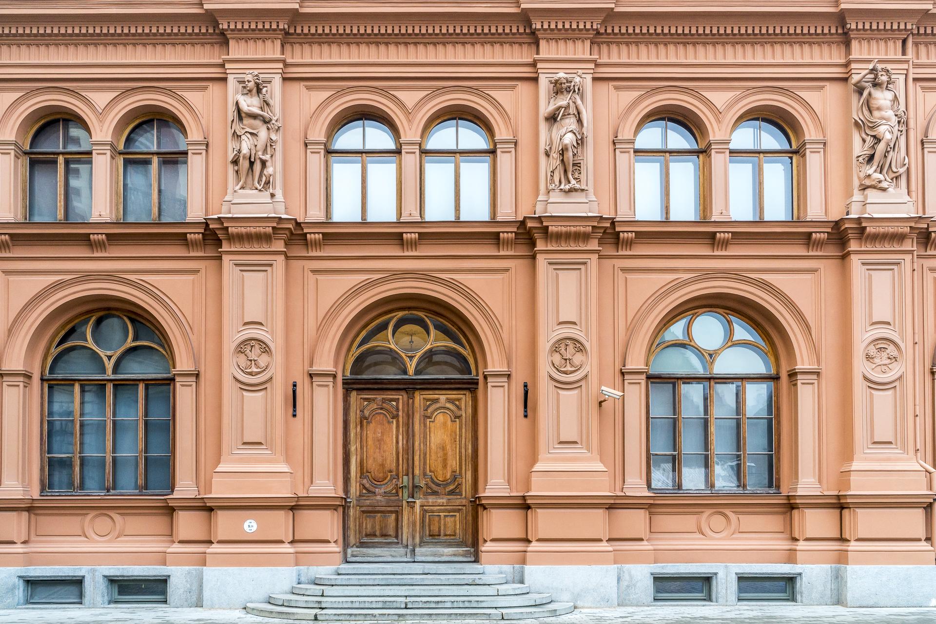 Riga Altstadt Fassaden