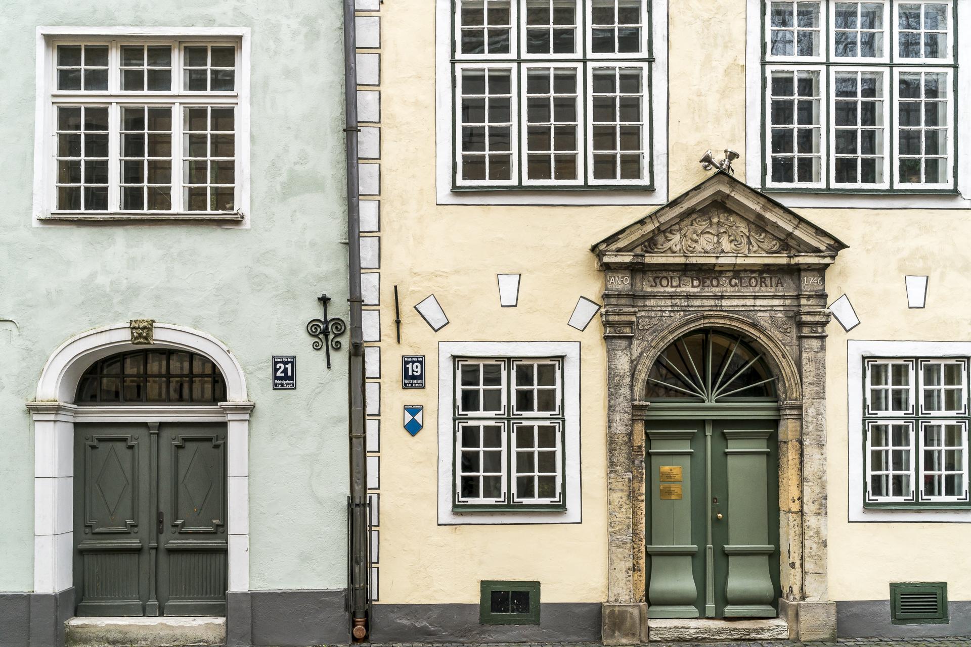 Historische Gebäude Altstadt Riga