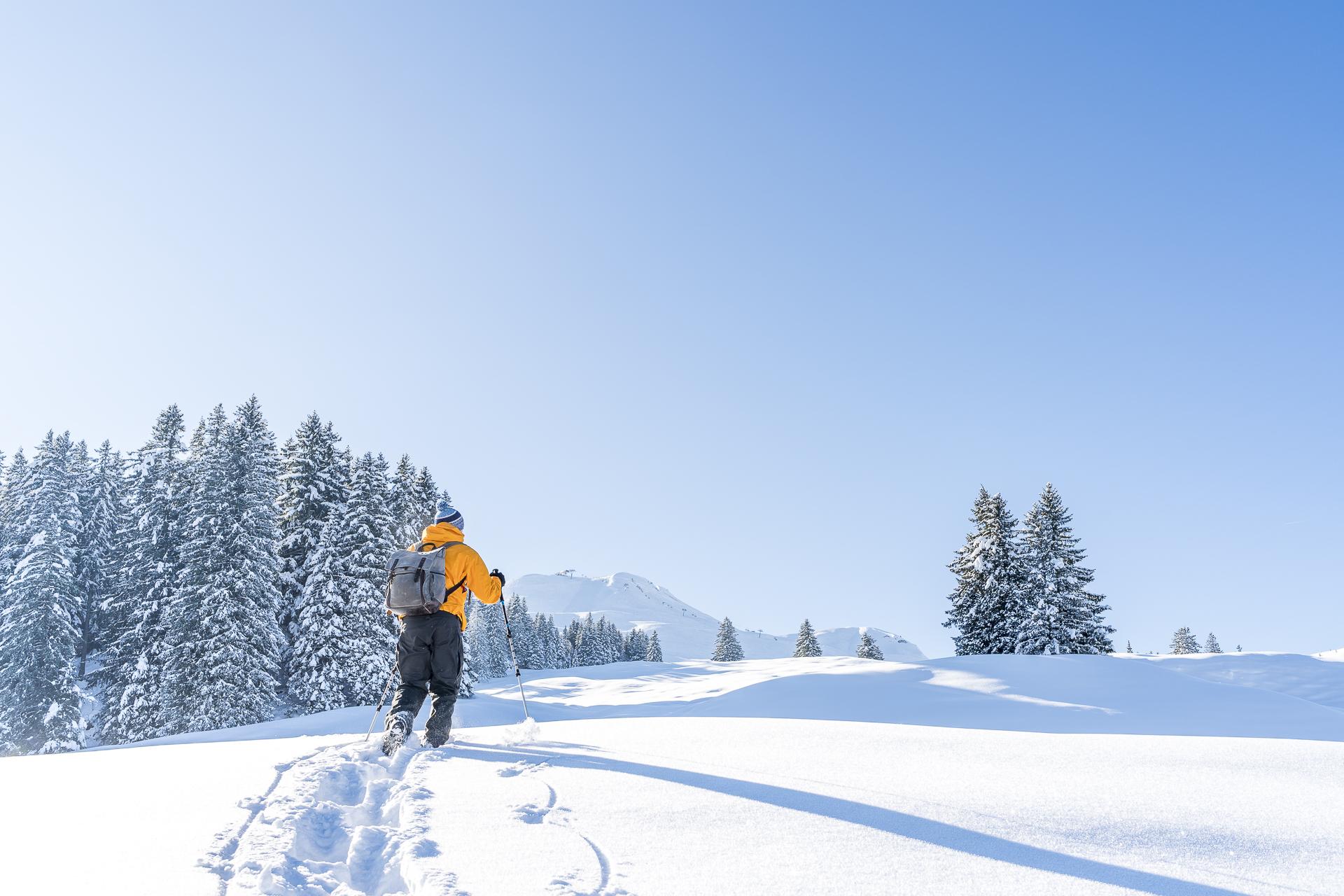 Stoss Schneeschuhtour