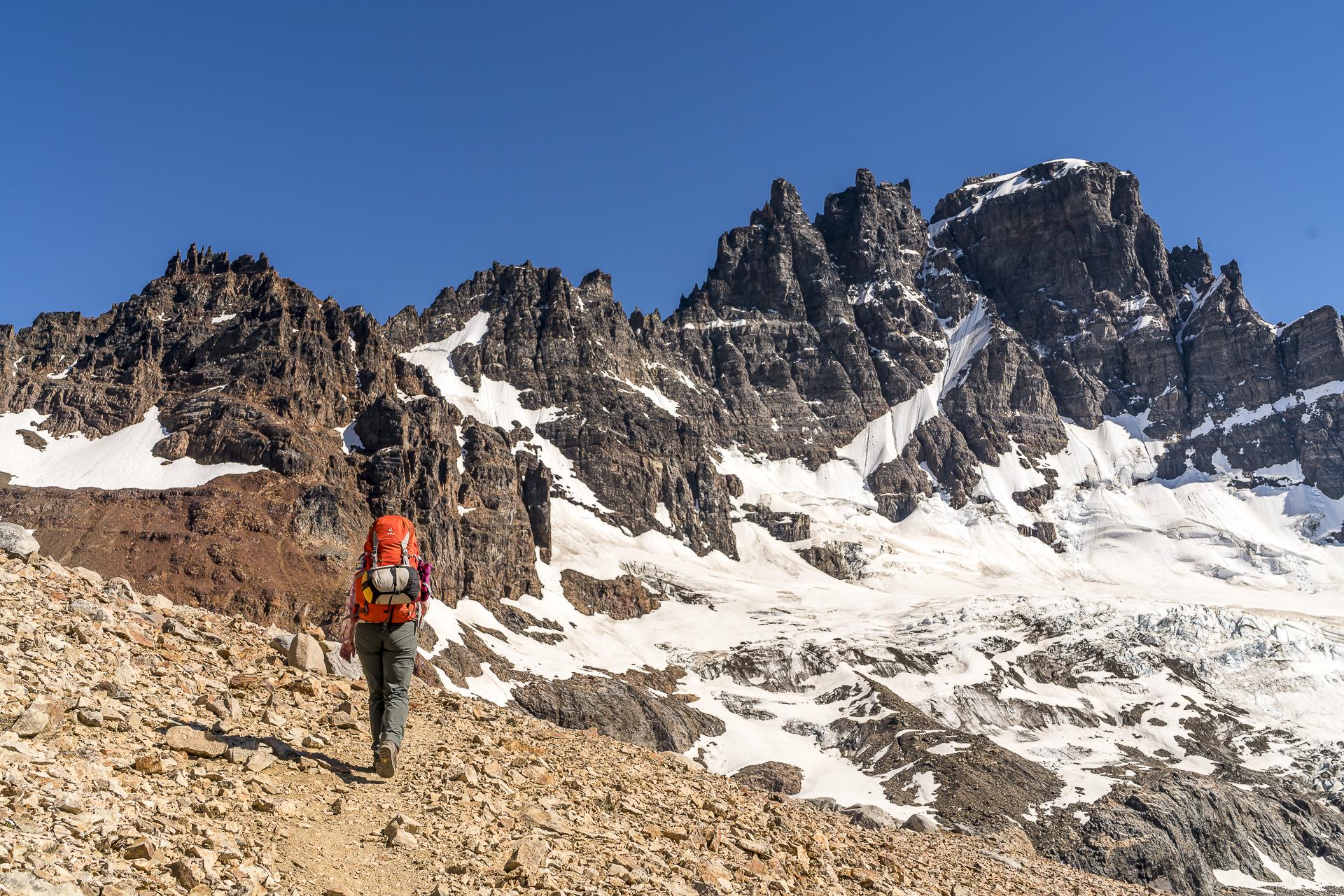 Austieg Cerro Castillo Trek Tag 3