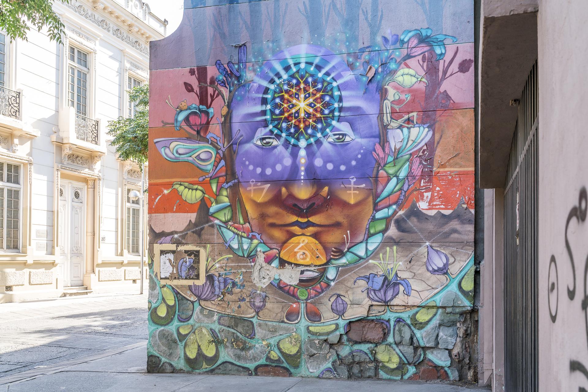 Barrio Brasil Santiago de Chile