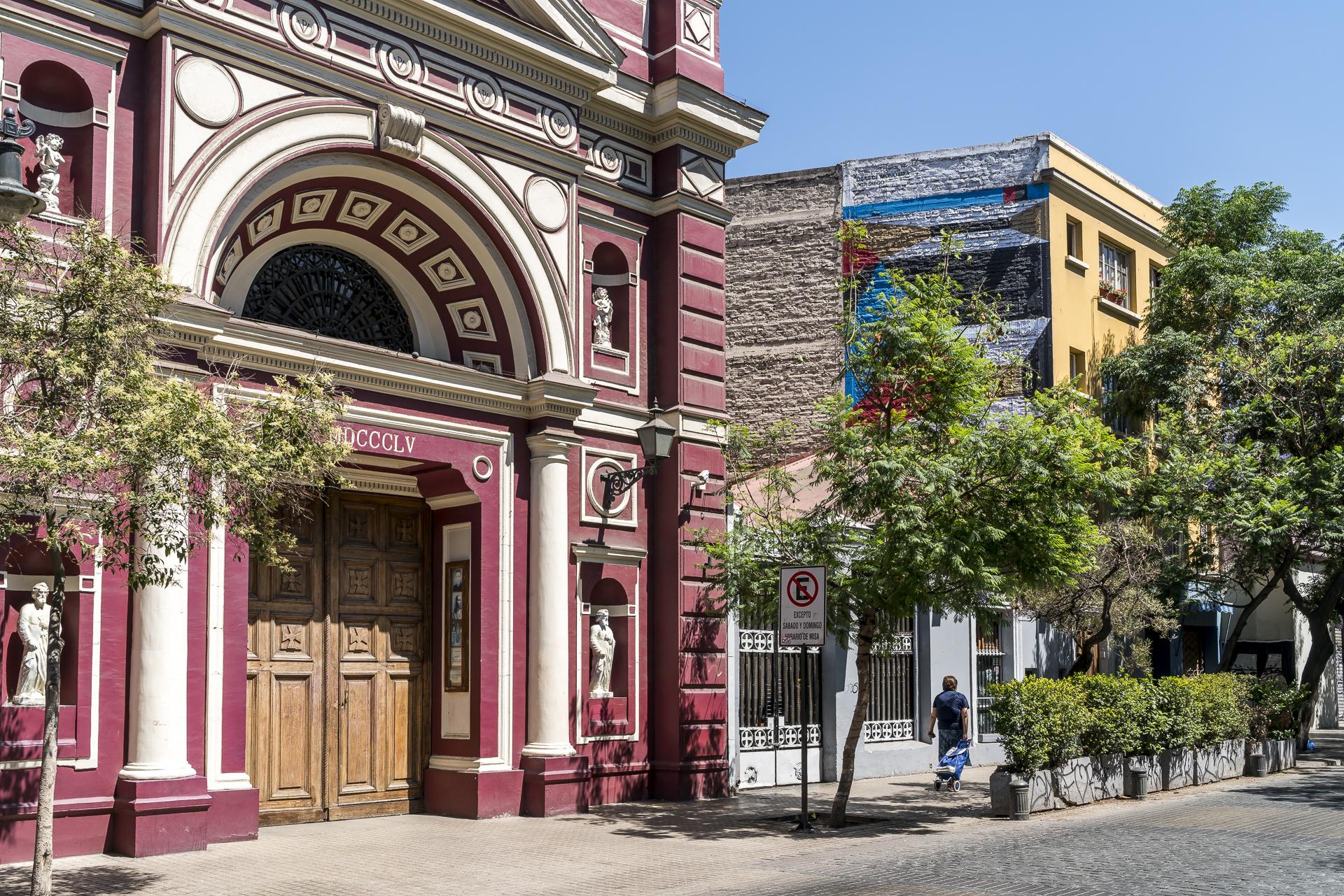 Barrio Lastarria Santiago