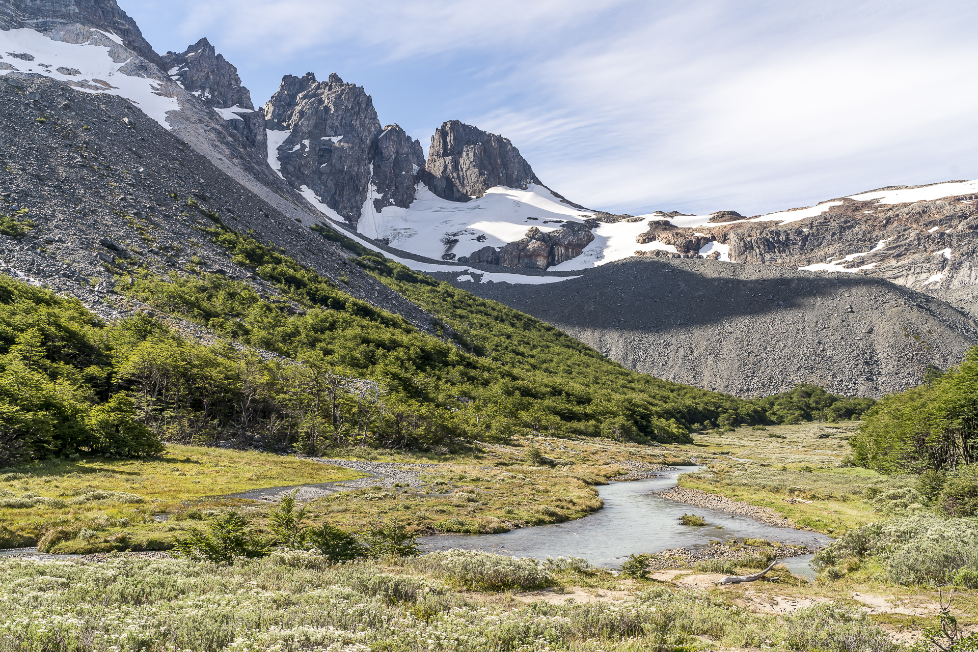 Campamento Neozelandes Landschaft