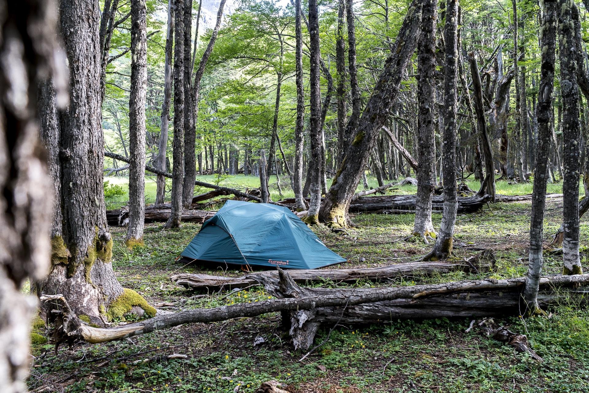 Campamento El Turbio Cerro Castillo