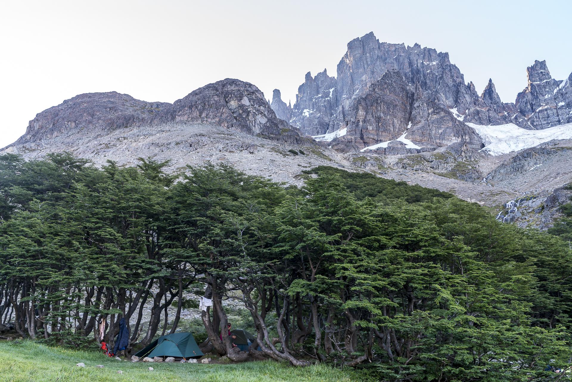 Campingplatz La Tetera Nationalpark Cerro Castillo