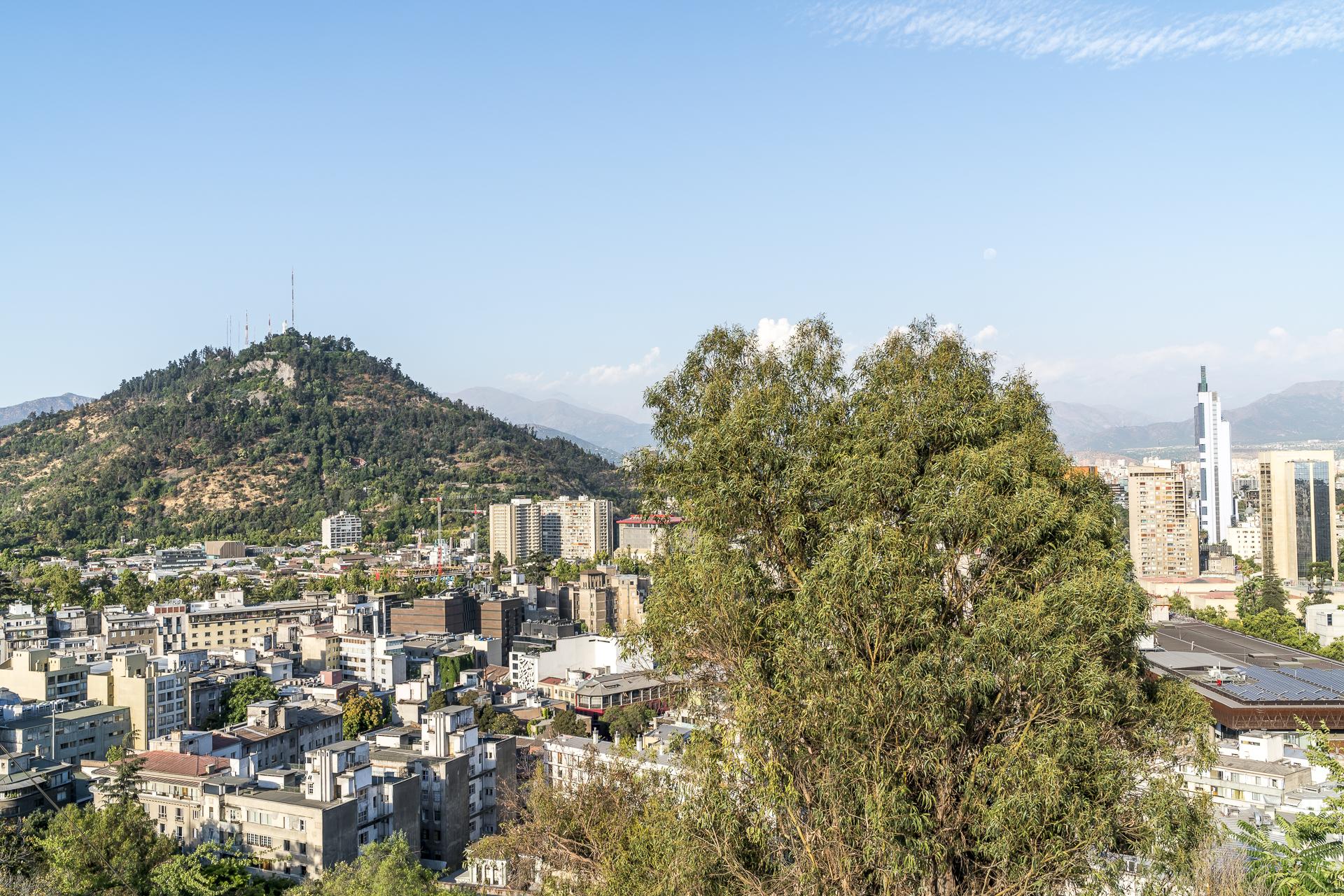 Cerro San Cristobal Santiago de Chile