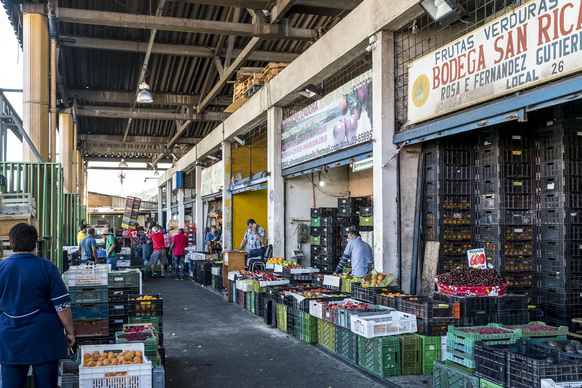 Mercado Vega Santiago de Chile