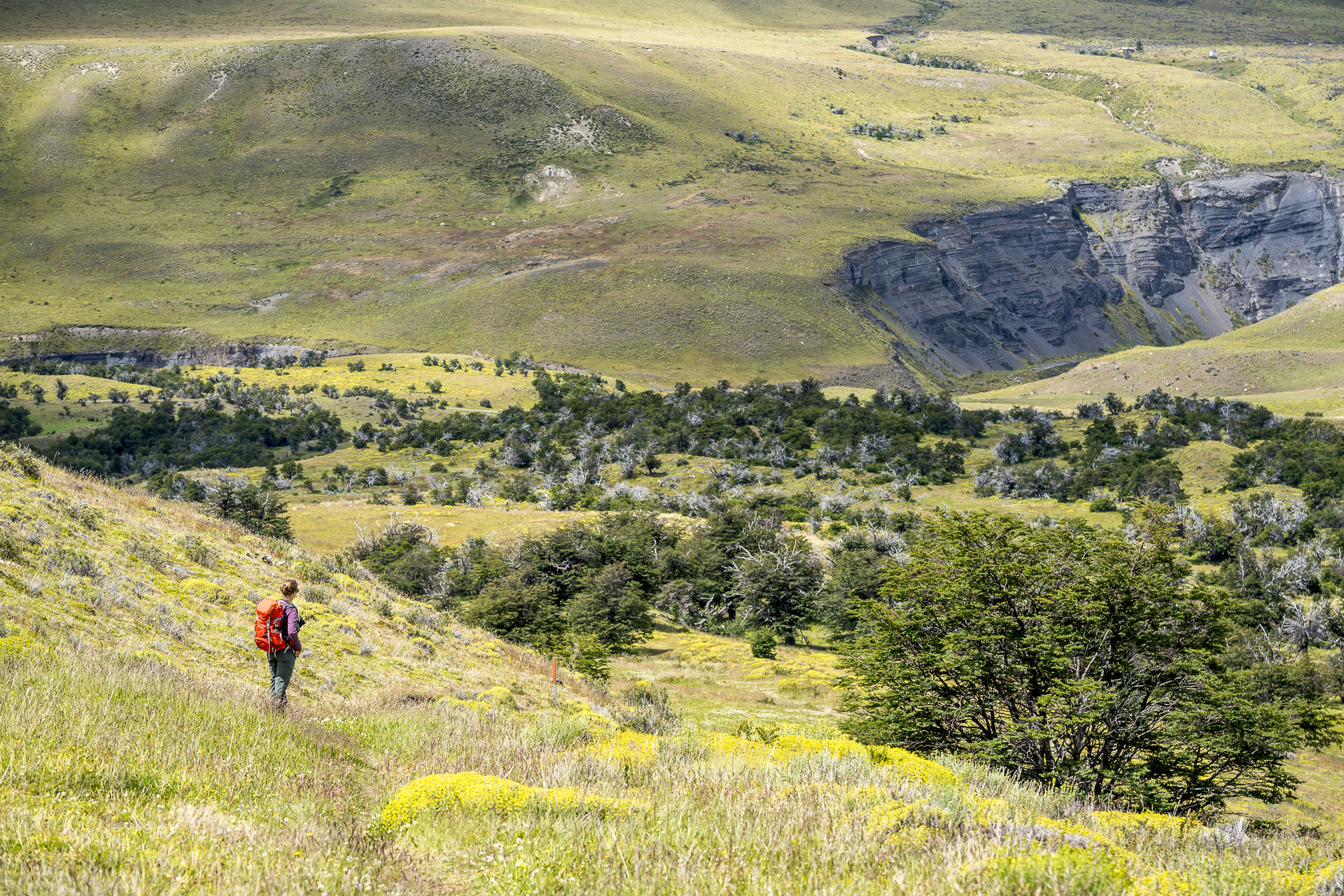 Mirador Laguna Azul Trail