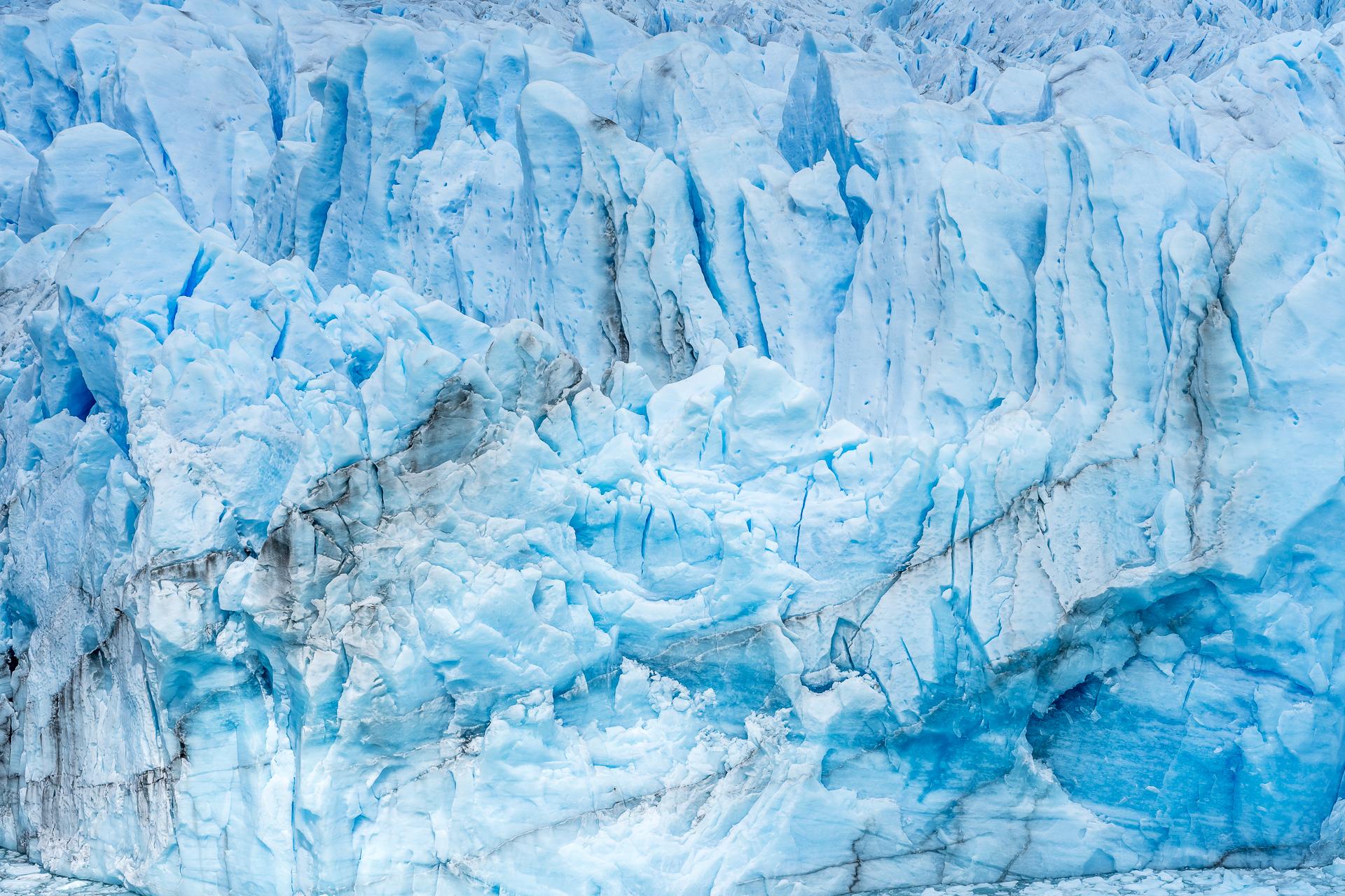 Detailaufnahme Eis Perito Moreno