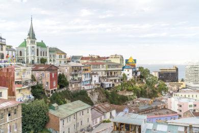 Postkarte von Valparaiso