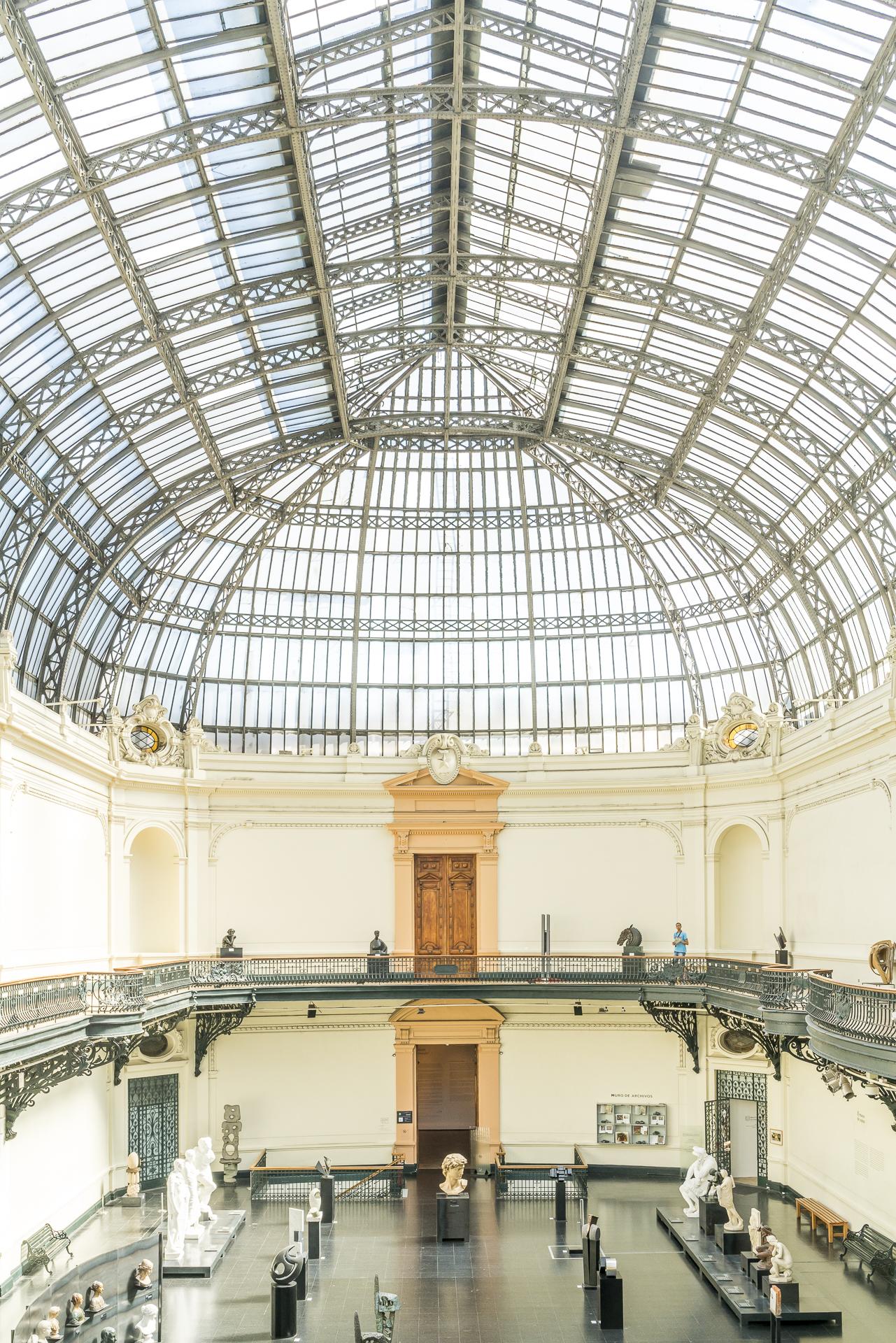 Santiago Museuo Nacional de Bellas Artes Architektur