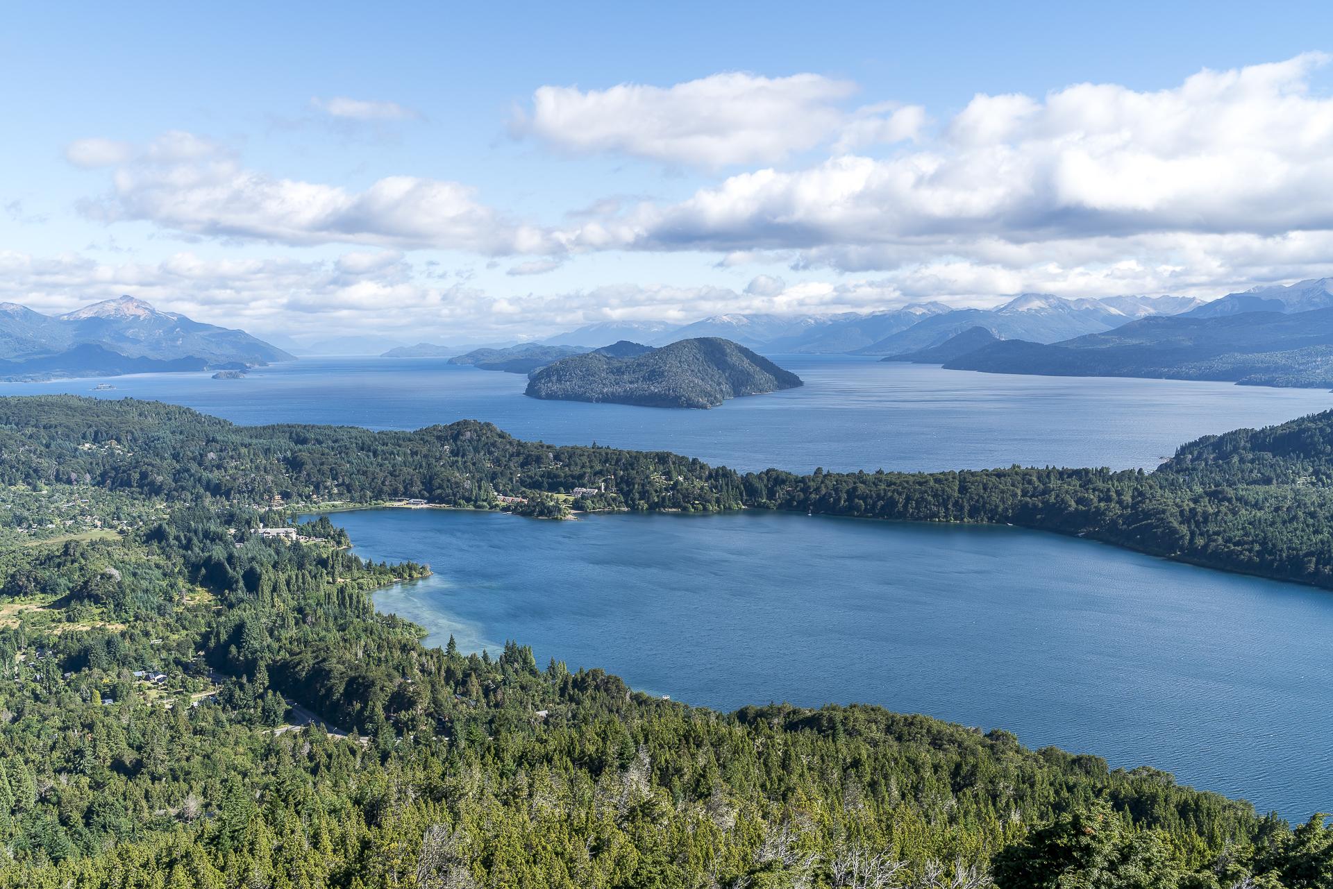 Aussicht Cerro Campanario auf den Nahuel Huapi See