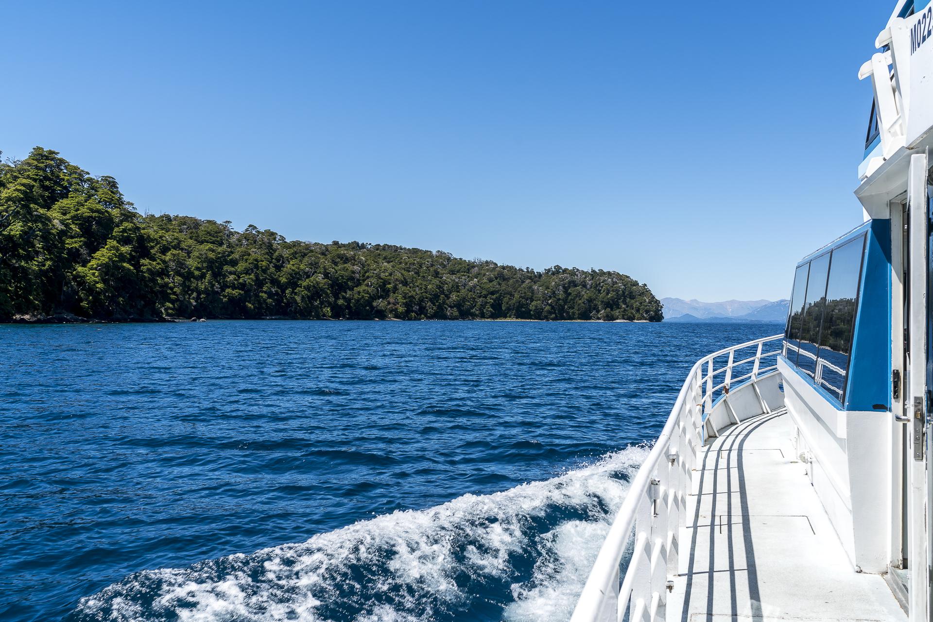 Bootsfahrt mit Patagonia Argentina Catamaran