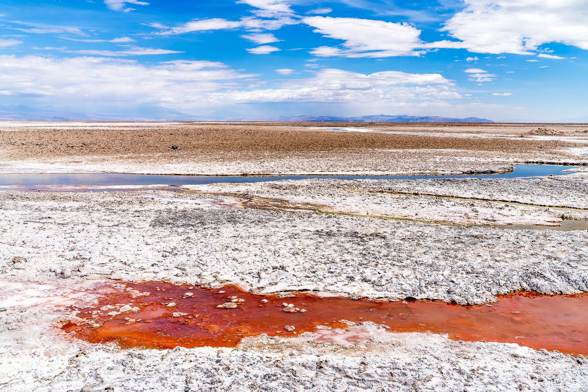 Farben Salar de Atacama