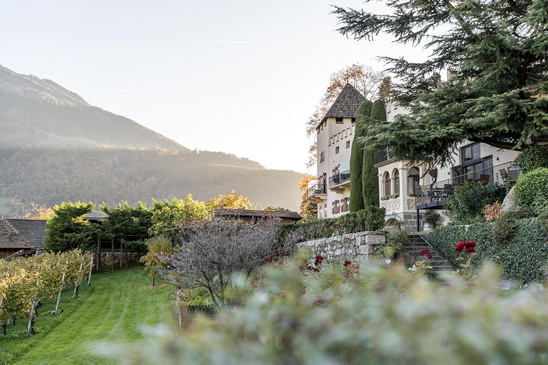 Schloss Plars Wine & Suites Algund Südtirol
