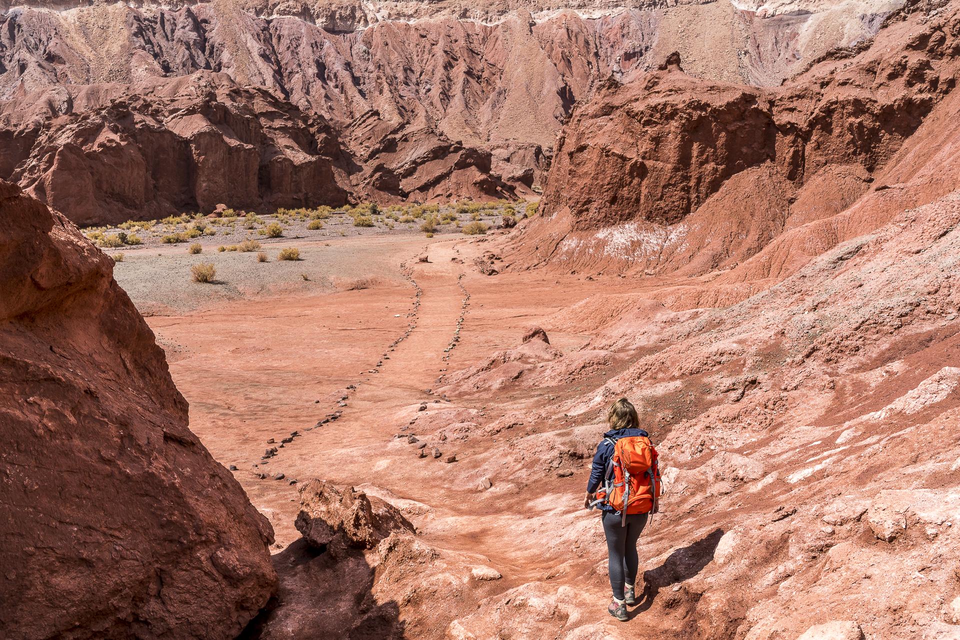 Valle Arcoiris Wandern