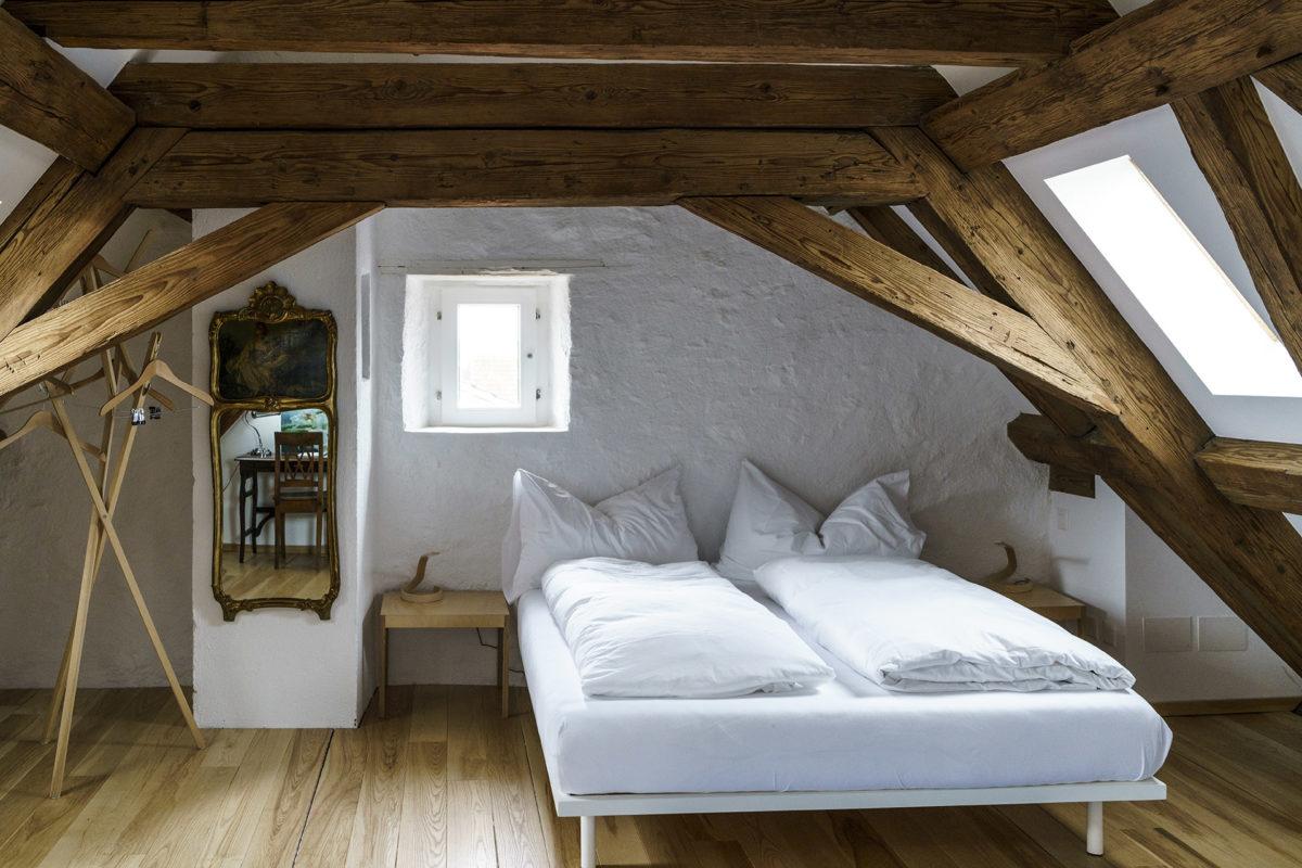 Zimmer in der Auberge du Mouton