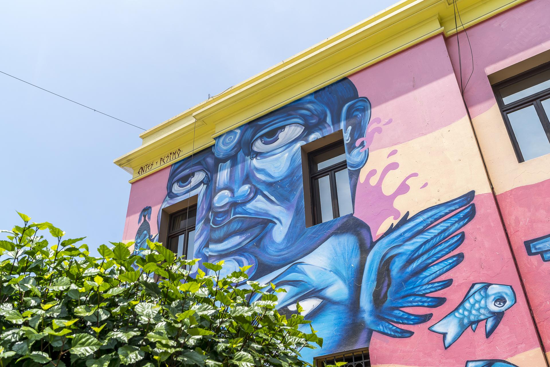 Street Art im Stadtteil Callao Lima