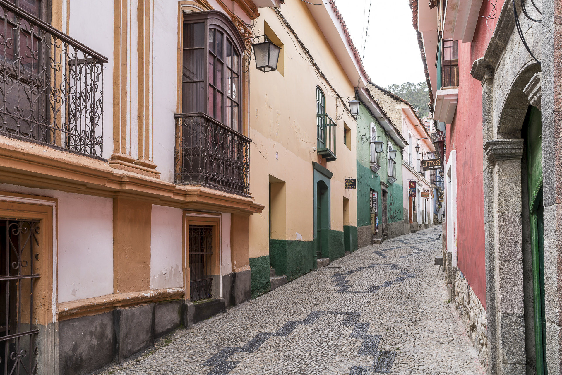 Calle Jaen La Paz Bolivien