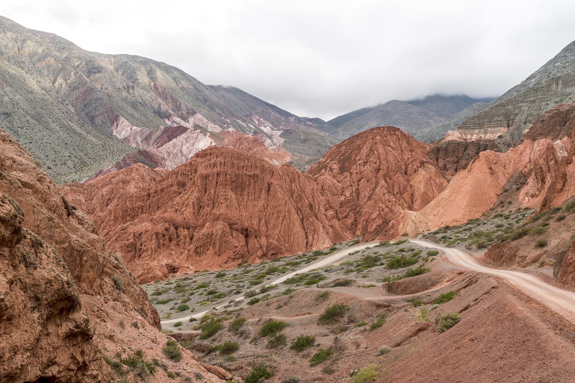 Cerro de los Seite Colores Purmamarca