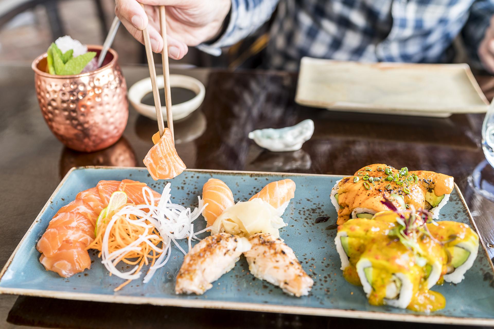 Sushi im Restaurant Limo Cusco