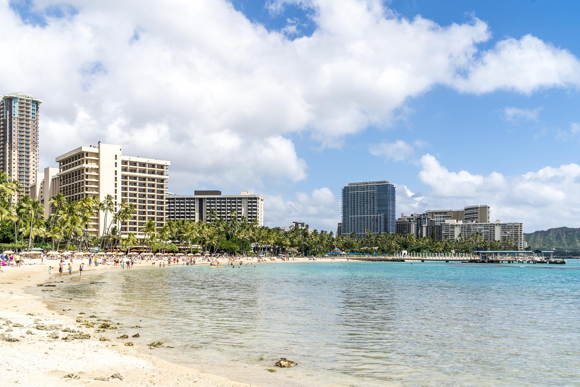Honolulu-Waikiki-Strand