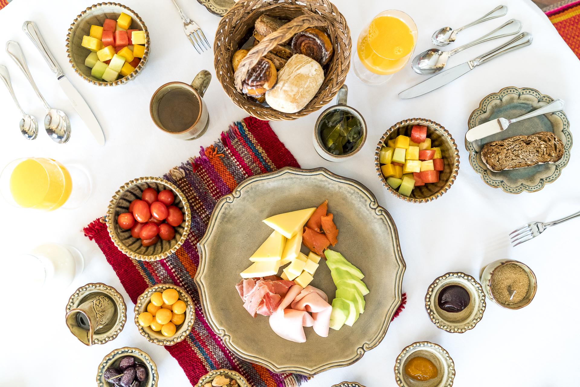 Frühstück Inkaterra Hacienda Urubamba