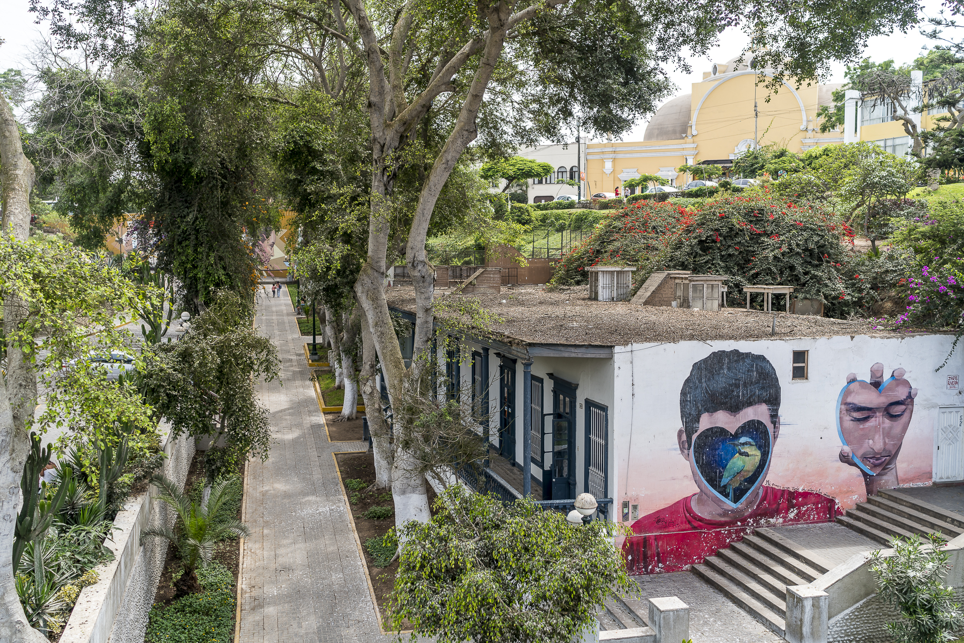 Lima Barranco Street Art