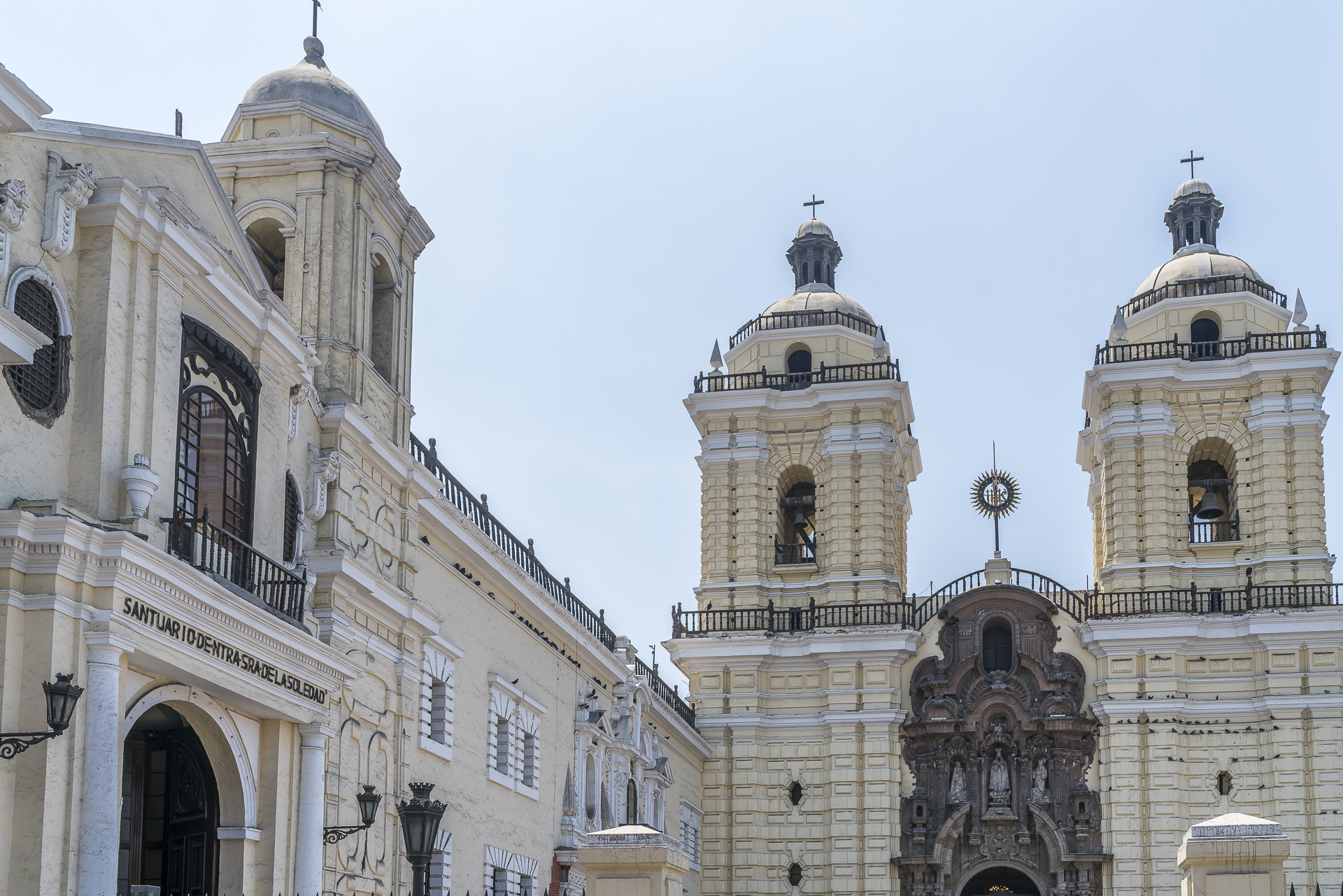 Lima Zentrum Kirchengebäude