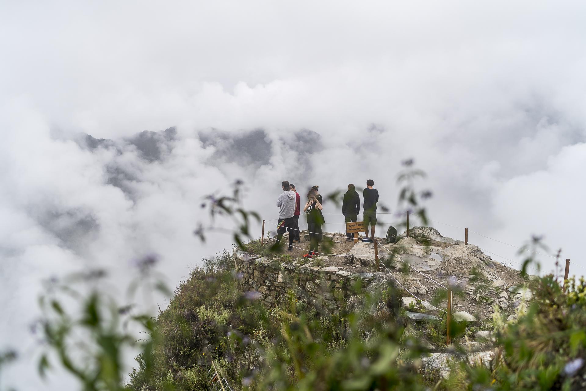 Aussicht Montana Machu Picchu
