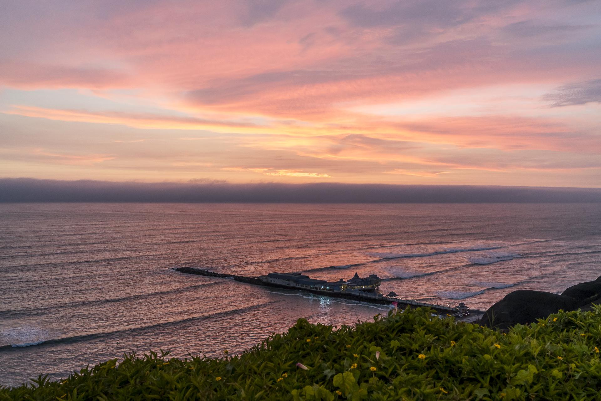 Peru Lima Sonnenuntergang
