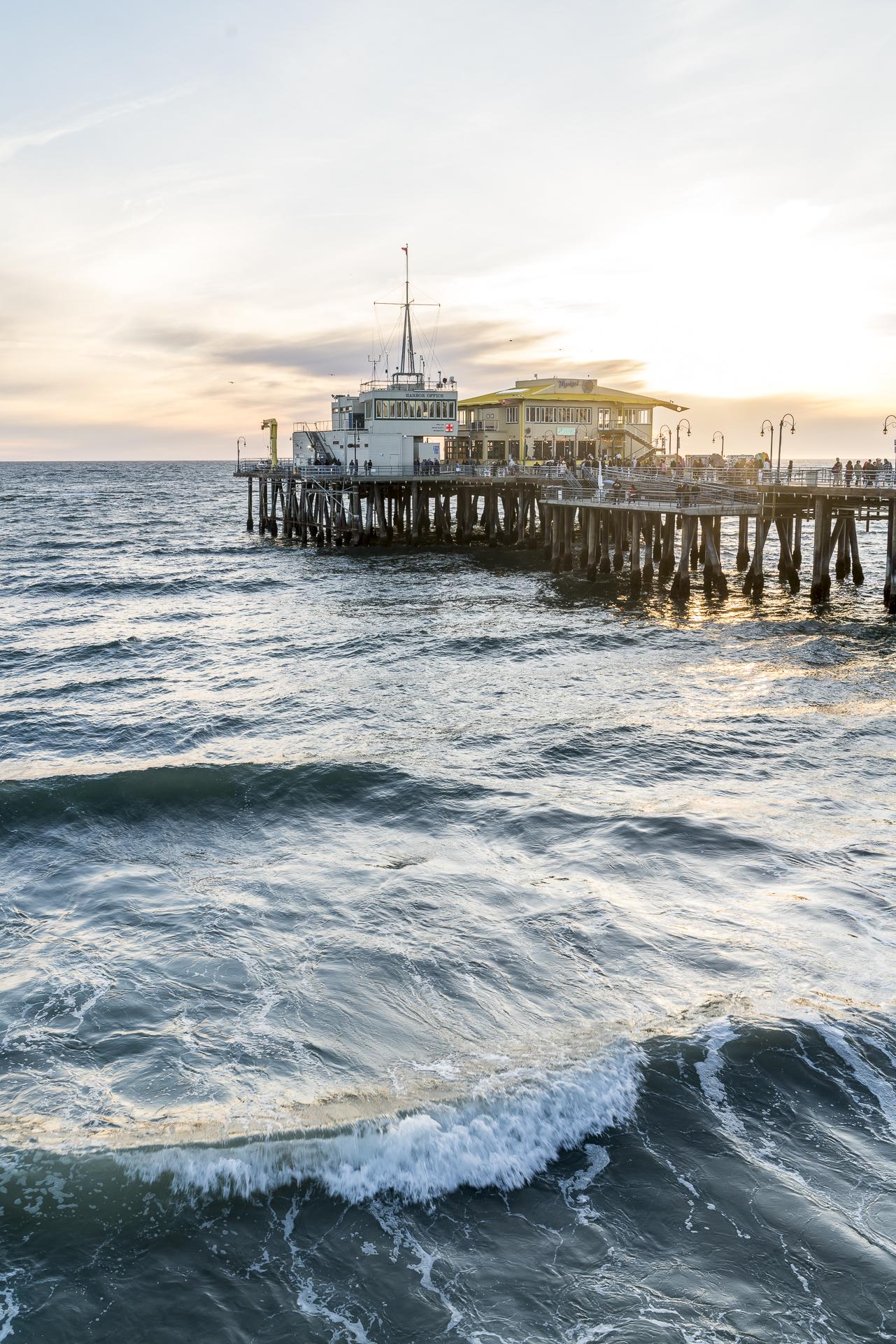 Santa Monica Pier USA